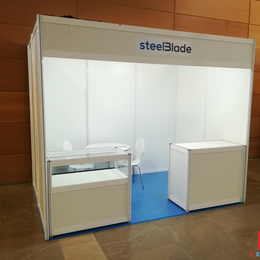 Advices to choose shell scheme stand, poster panels and furniture for trade show