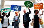 We work to make expo faces happy, ask us how - Happy Expo Day!